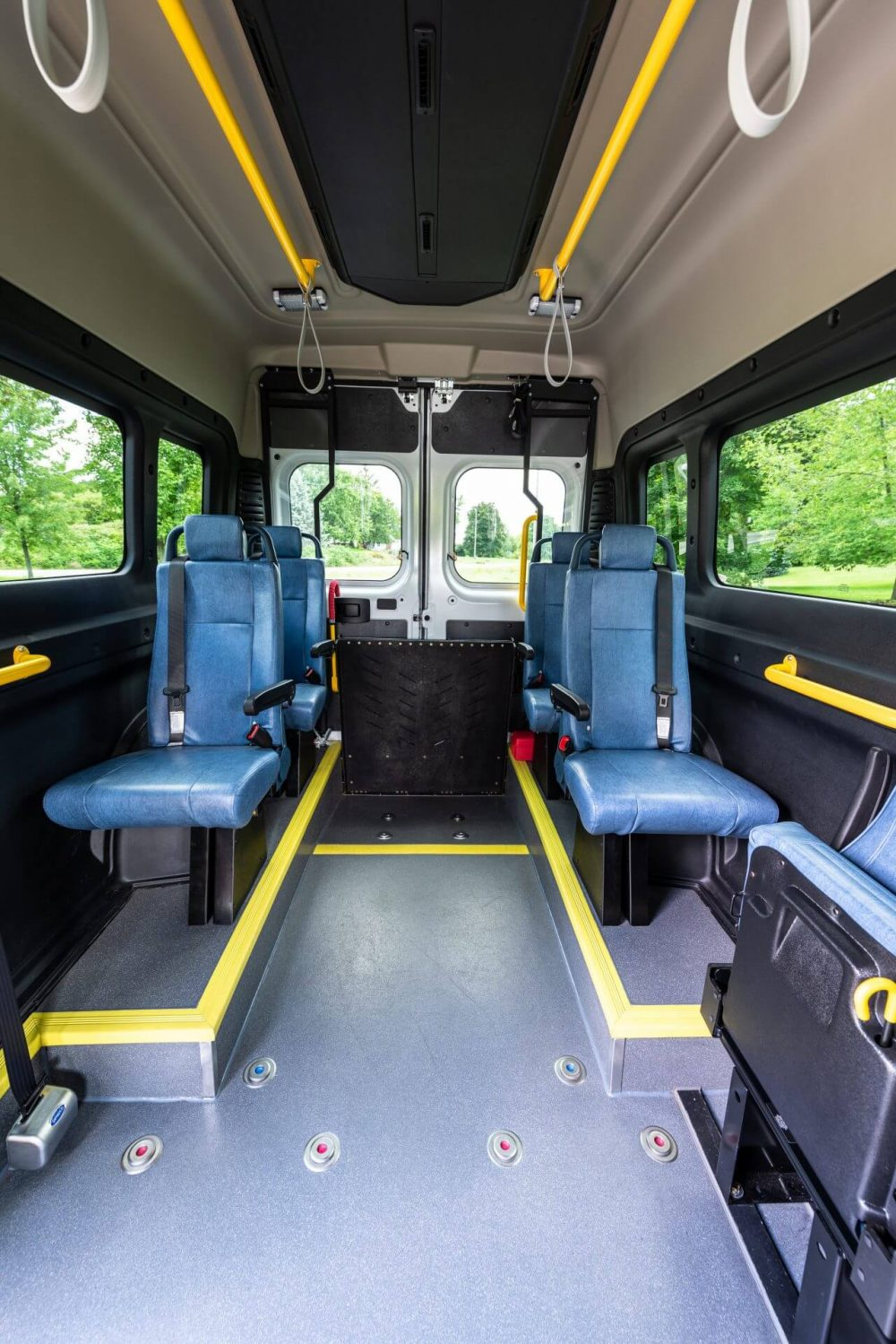 The Community Shuttle 2 (CS-2) is a Wheelchair Conversions vehicle.