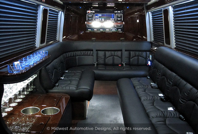 Professional Series Sprinter Limo | Midwest Automotive