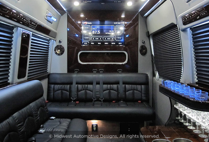 Professional Series Sprinter Limo Midwest Automotive